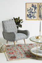 Anthropologie Tiled Losange Chair