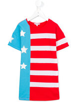 Little Marc Jacobs stars and stripe dress - kids - Cotton/Modal - 12 yrs