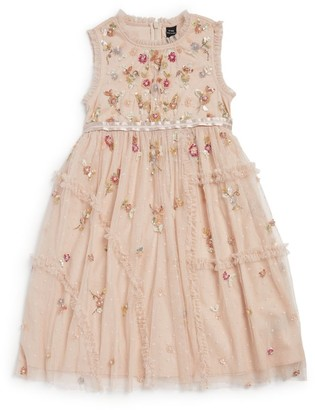Needle & Thread Shimmer Ditsy Floral Dress (4-10 years)