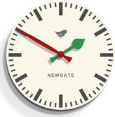 Newgate Clocks - Train Clock - Mews White - 50cm dia