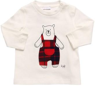 Il Gufo Bear Cotton Jersey T-Shirt