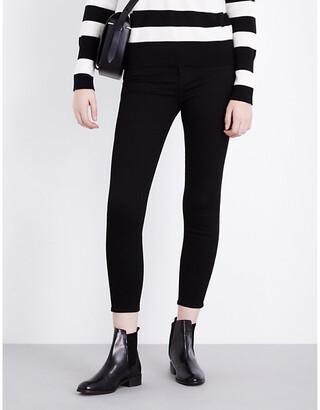 J Brand Capri skinny cropped mid-rise jeans