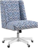 Linon Dobby Chevron Office Chair
