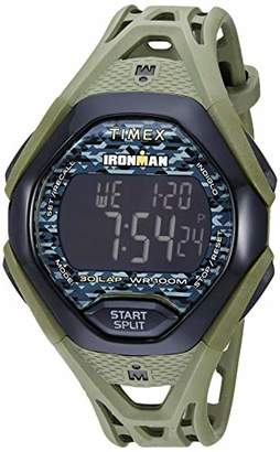 Timex Men's TW5M23900 Ironman Sleek 30 Resin Strap Watch