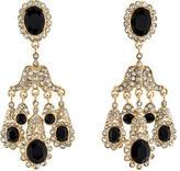 Kenneth Jay Lane Crystal Chandelier Earrings