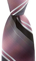 Murano Big & Tall Stripe Narrow Silk Tie