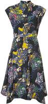 Zero Maria Cornejo Adi shirt dress - women - Silk/Spandex/Elastane - 6