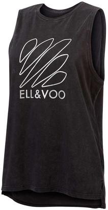 Ell & Voo Womens Taylor Muscle Tank