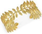 Rachel Roy Gold-Tone Leaf Cuff Bracelet