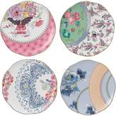 Wedgwood Harlequin Butterfly Bloom Cake Plate, 20cm (Set of 4)