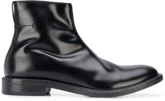 Moma zipped ankle boots