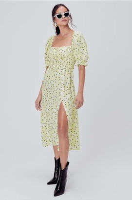 For Love & Lemons Women's Smocked and Loose Fit