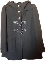 Miu Miu Green Wool Coat