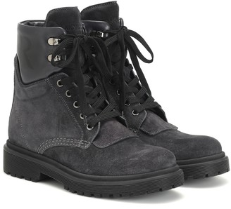 Moncler Patty suede ankle boots