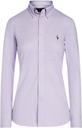 Ralph Lauren Knit Cotton Oxford Shirt