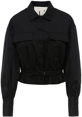 L'Autre Chose Balloon Sleeves Jacket