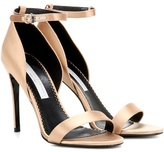 Stella McCartney Satin pumps with ankle strap