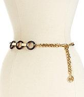 Michael Kors Resin Link Chain Belt