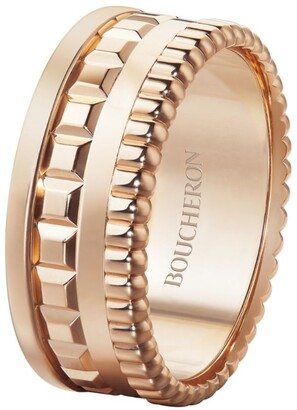 Boucheron Rose Gold Quatre Radiant Edition Small Ring