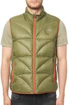 Buffalo David Bitton Men's Jadan Padded Vest - Green, Size xx-large