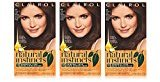 Clairol Natural Instincts 14 Tweed Light Cool Brown 1 Kit (Pack of 3)