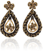 Deepa Gurnani Nida Beaded Drop Earrings