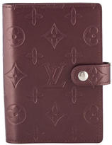 Louis Vuitton Vernis Small Ring Agenda Cover