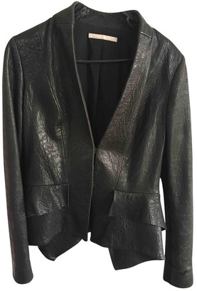 Willow Black Leather Jacket for Women