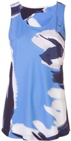 Natori abstract print tank top