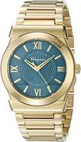 Salvatore Ferragamo Men's 'Vega' Quartz Stainless Steel Casual Watch, Color:Gold-Toned (Model: FI0040015)