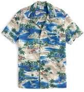 J.Crew J. CREW Slim Fit Island Print Sport Shirt