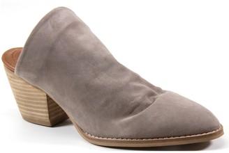 Diba True Slip-On Leather Mules - Over Edge