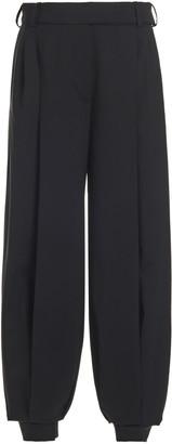 Alexandre Vauthier Wool Flannel Harem Pants