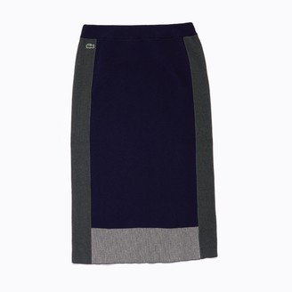 Lacoste Women's Colorblock Pencil Skirt