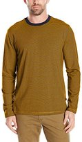 Nautica Men's Classic Fit Striped Long Sleeve T-Shirt
