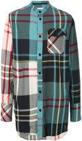 J.W.Anderson long checked shirt