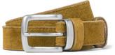 Nonnative 2.5cm Brown Roamer Suede Belt
