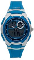 Sector R3251172037 38mm Blue Plastic Band & Case Mineral Women's Watch