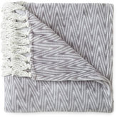 EVA LONGORIA HOME Eva Longoria Fringe Plush Throw
