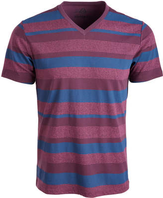 American Rag Men V-Neck Striped T-Shirt