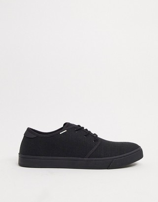 Toms carlo sneakers in black