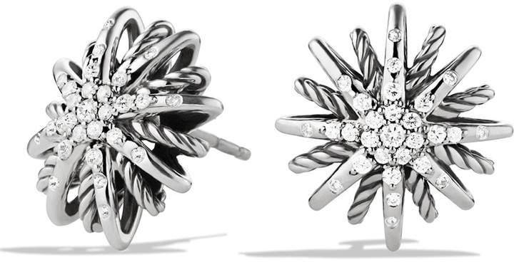 David Yurman 'Starburst' Small Earrings with Diamonds