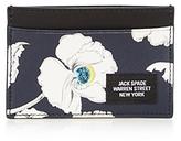 Jack Spade Poppy Floral Card Case