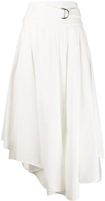 Brunello Cucinelli Asymmetric Skirt