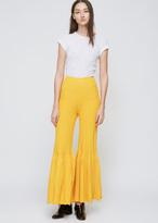 Rachel Comey Yellow Nadir Pant