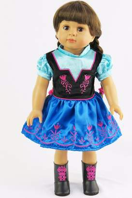 Fashion World American Doll Party Dress