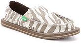 Sanuk I'm Game Zebra-Print Slip-On Shoes