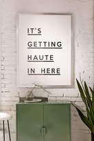 Honeymoon Hotel Haute In Here Art Print