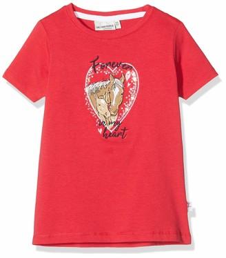 Salt&Pepper Salt and Pepper Girls' Pferde Applikation mit Stickerei und Pailletten T-Shirt