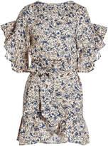 Etoile Isabel Marant Delicia Printed Linen Dress